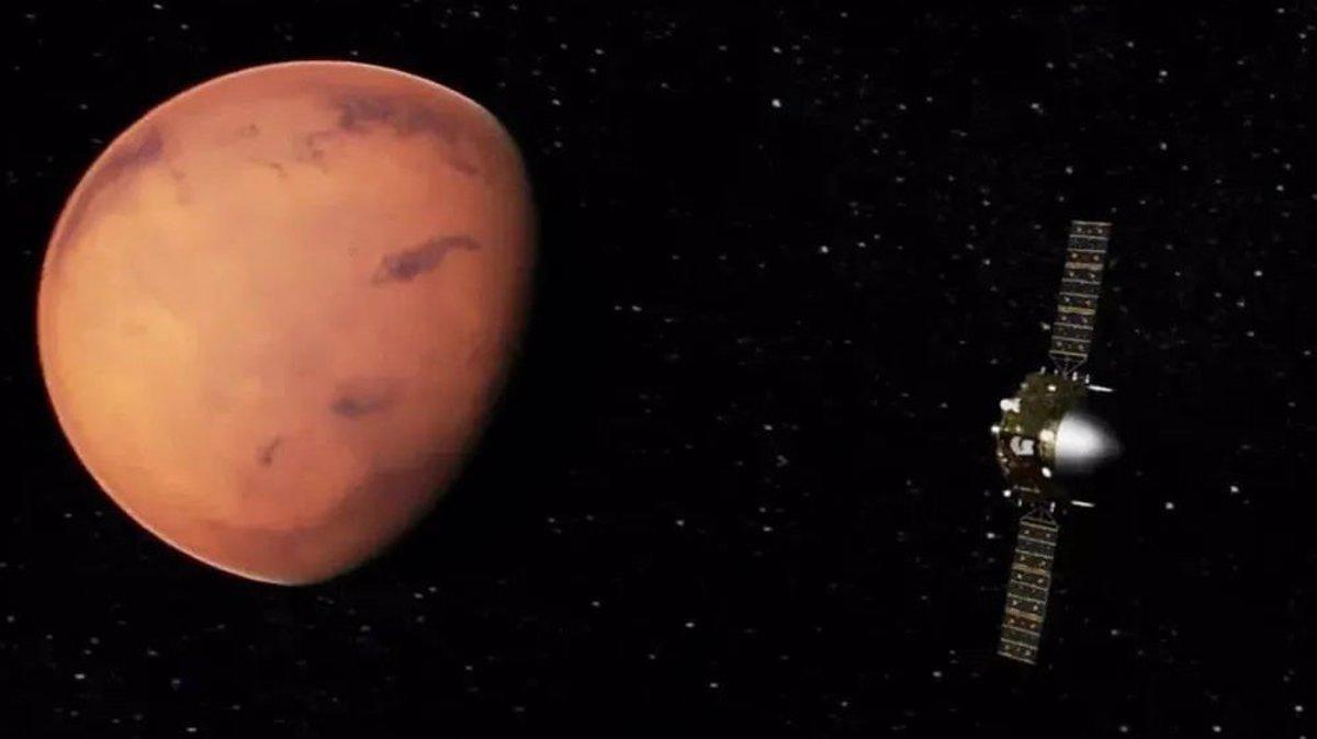 La misión china a Marte supera 400 millones de kilómetros de viaje