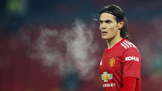 Edinson Cavani of Manchester United during the English championship Premier League football match between Manchester United and Wolverhampton Wanderers on December 29, 2020 at Old Trafford in Manchester, England - Photo Lynne Cameron / Colorsport / DPPI