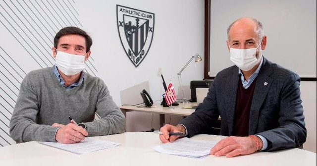 Marcelino García Toral firma con el Athletic Club hasta 2022