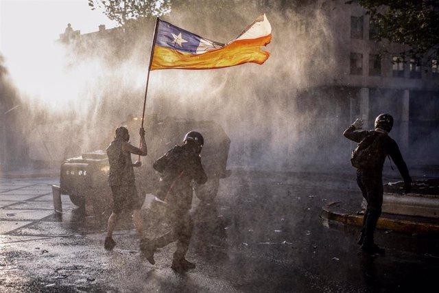 Protestas en Chile en el marco del estallido social.