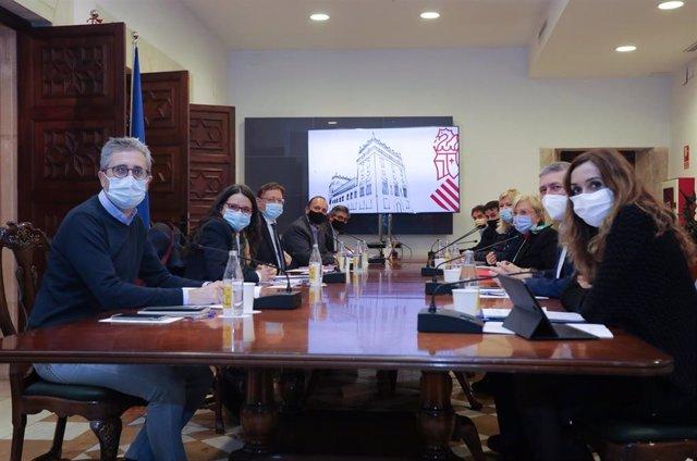 Reunión de la Comisión Interdepartamental sobre medidas frente a la pandemia en imagen de archivo