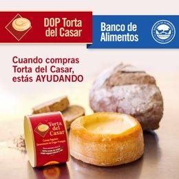 La Torta del Casar continúa con sus donaciones al Banco de Alimentos para ayudar en Reyes a los más necesitados