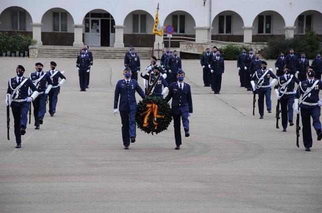 Celebración de la patrona del Ejército del Aire en la Base Aérea de Son Sant Joan.