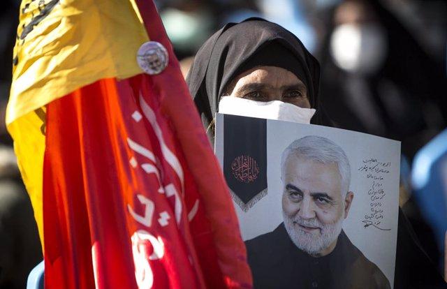 Aniversario del bombardeo en el que murió Qassem Soleimani