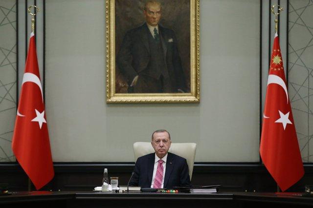 El president de Turquia, Recep Tayyip Erdogan