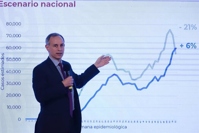 El subsecretario de Prevención y Salud de México, Hugo López-Gatell.