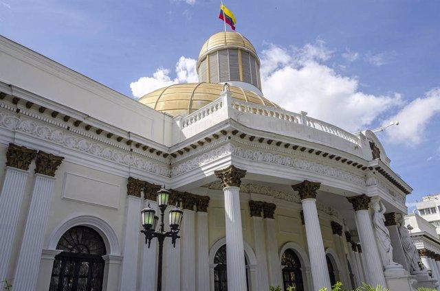 Palacio Federal Legislativo de Caracas, sede de la Asamblea Nacional