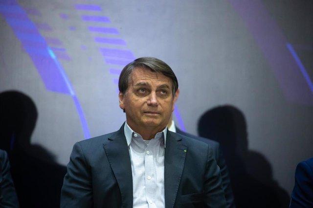 El presidente brasileño, Jair Bolsonaro.