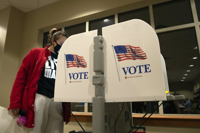 Jornada electoral en Georgia, EEUU.