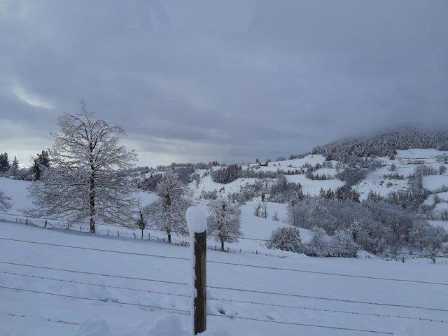Neu a Cangas del Narcea (Astúries)