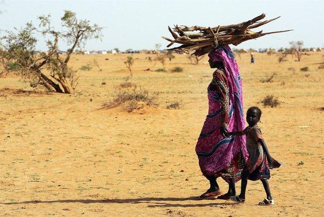 Refugiados de Darfur en Chad