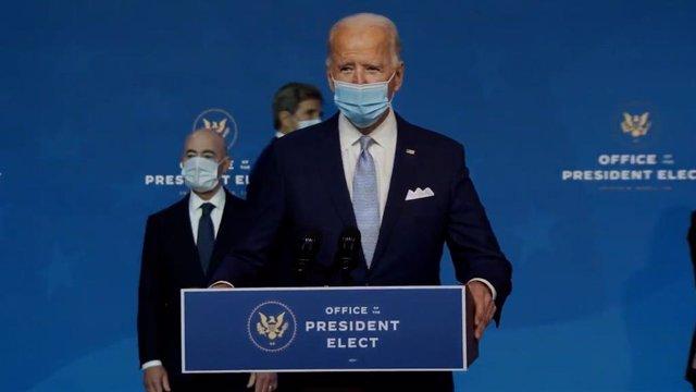 Presidente Electo de EEUU, Joe Biden