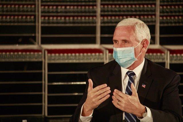 El vicepresidente de EEUU, Mike Pence.