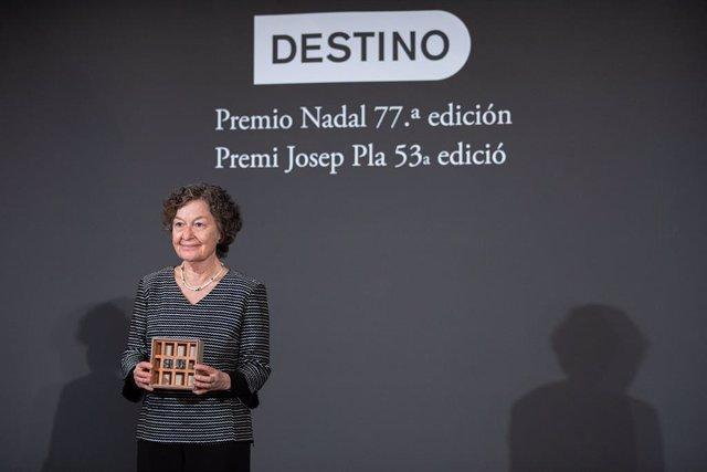 Maria Barbal, guanyadora del Premi Josep Pla 2021