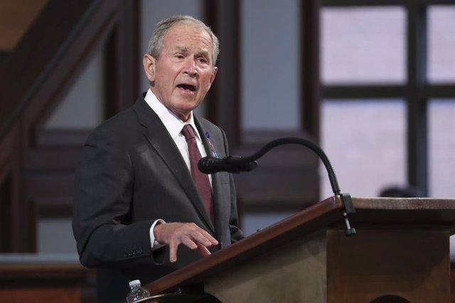 El expresidente de EEUU George W. Bush