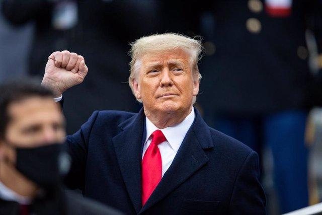 El president sortint dels Estats Units, Donald Trump.