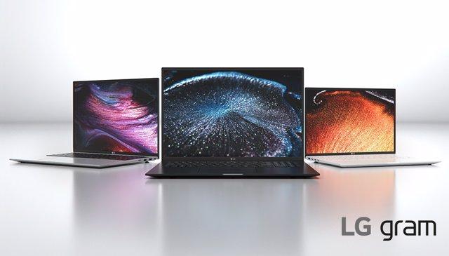 Portátiles LG Gram 2021