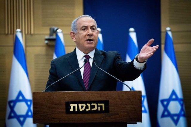 El primer ministro de Israel, Benjamin Netanyahu.