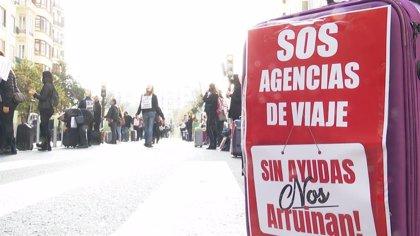 """Agencias de viajes reiteran que la extensión de los ERTE es """"insuficiente"""" para garantizar su supervivencia"""