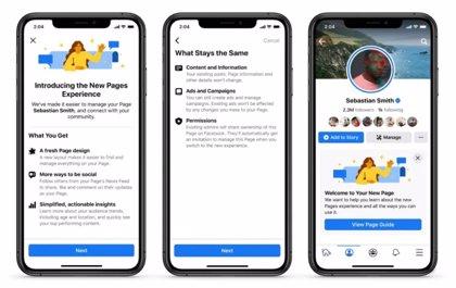Facebook introduce un 'feed' en las Páginas para descubrir conversaciones y tendencias