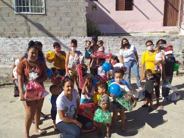 IGC TECNOS con la comunidad Samaria