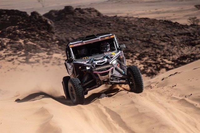 Equipo Graphenano-Vehilsxtrem en el Rally Dakar