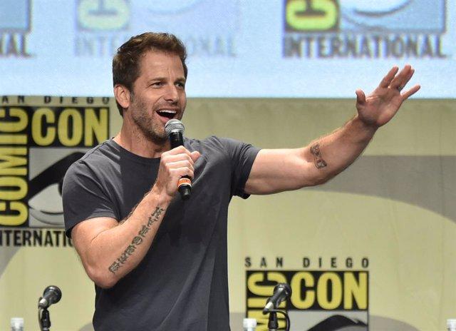 Zack Snyder en la Comic Con de 2014