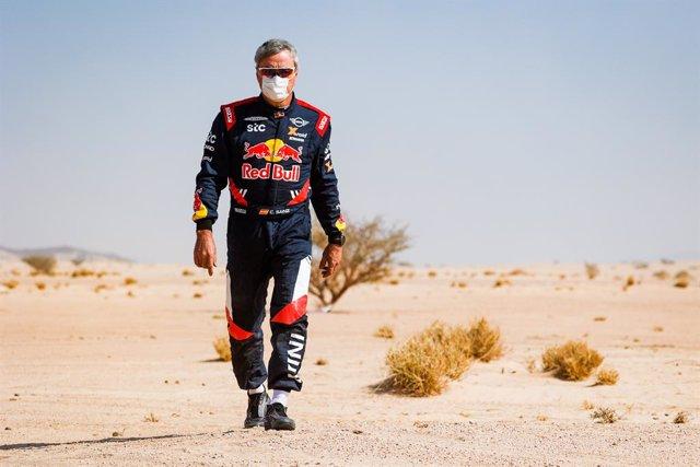 Carlos Sainz en el Dakar