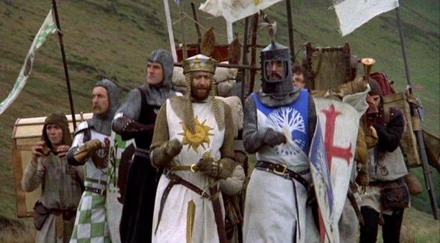 Cinesa proyectará el próximo martes 20 de octubre a las 20:00 horas en 16 de sus salas españolas la película 'Los caballeros de la mesa cuadrada', largometraje del grupo británico Monty Python