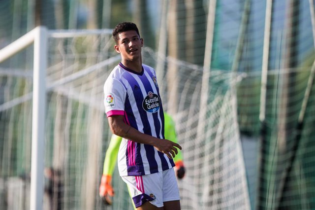 Marco Andre of Real Valladolid during the friendly match between Granada Futbol Club and Real Valladolid at Marbella Football Center on August 28, 2020 in Malaga, Spain.