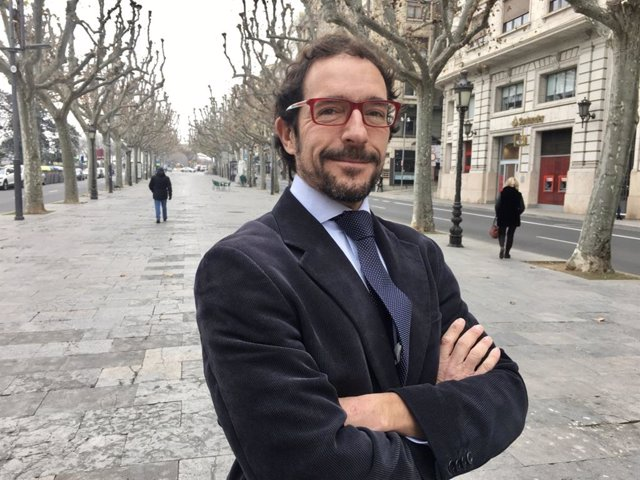 Jorge Culleré, líder de la plataforma ciutadana Lleida en Marxa