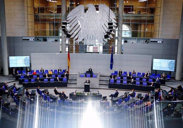 El Parlamento de Alemania.