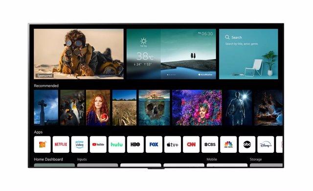 Plataforma webOS 6.0  para SmartTV de LG
