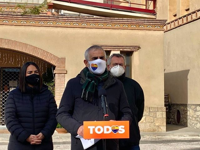 El líder de Ciudadanos en el Parlament de Cataluña y candidato a la Presidencia de la Generalitat en las elecciones de 2021, Carlos Carrizosa.