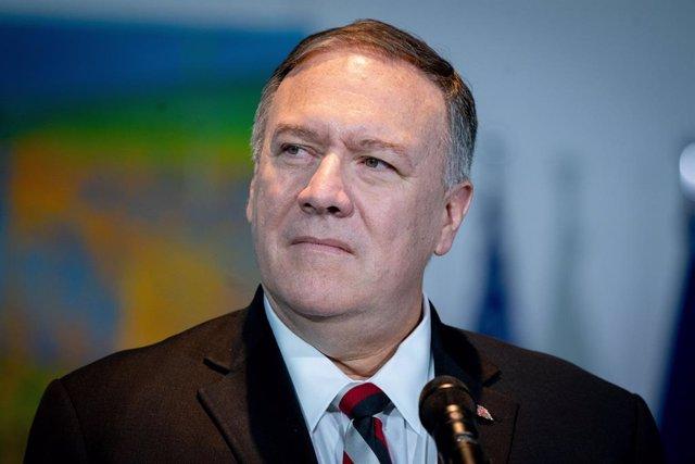 Mike Pompeo, secretario de Estado estadounidense