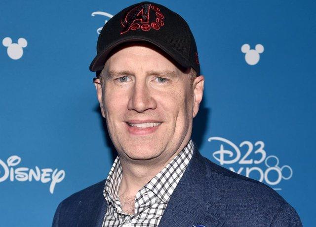 El presidente de Marvel Studios Kevin Feige
