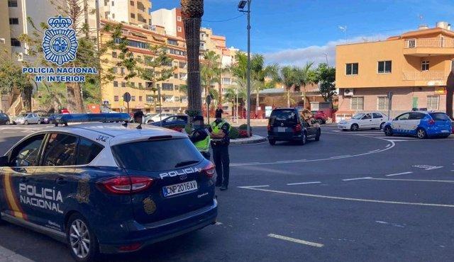 La Policía Nacional impone 115 propuestas de sanción en Tenerife y La Palma en la festividad de 'Reyes'