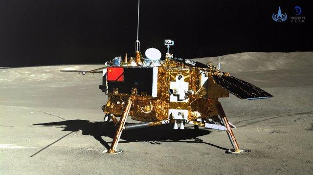 Módulo de aterrizaje de la misión Chang'e 4