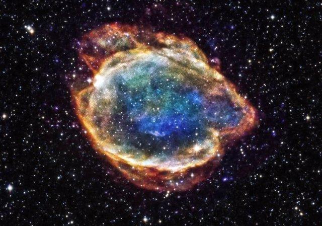 Remanente de una supernova de tipo Ia
