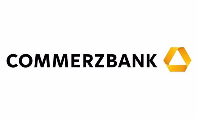 Logo del banco alemán Commerzbank.