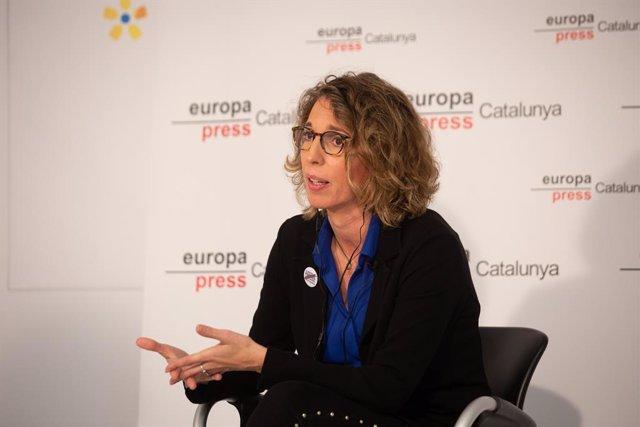 L'exconsellera i candidata del PDeCAT a les eleccions catalanes, Àngels Chacón