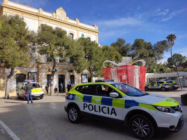 Cotxe de la Policia Local de Sitges