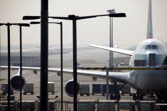Imagen de archivo del aeropuerto de Hong Kong