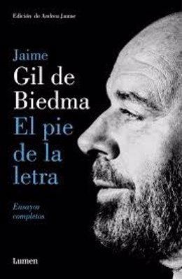 Ensayos 'El pie de la letra' de Jaime Gil de Biedma