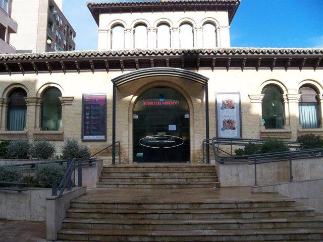Teatro del Mercado en Zaragoza.
