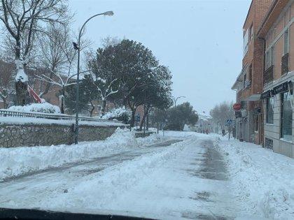 Colmenar Viejo y Tres Cantos se unen para pedir la intervención de la UME  para hacer frente a la nevada