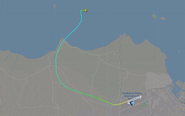 Avió d'Air Sriwijaya desaparegut