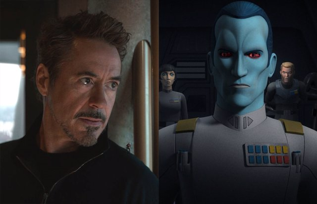 Así Sería Robert Downey Jr. Como El Almirante Thrawn