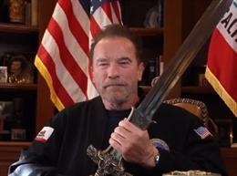 El exgobernador de California Arnold Schwarzenegger