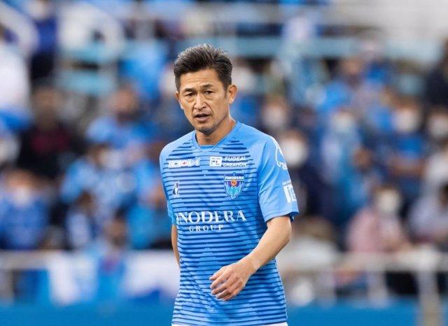 Kazuyoshi Miura con el Yokohama FC